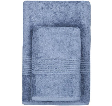 Полотенце TAC Maison Bambu (синее)