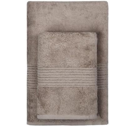 Полотенце TAC Maison Bambu (коричневое)