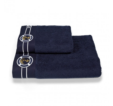 Набор полотенец Soft Cotton Marine (темно-синий, 2 предмета)