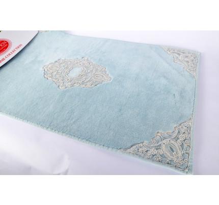 Набор ковриков Karven Marlow бирюзовый (50x60+60x100)