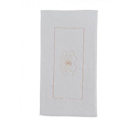 Полотенце-коврик для ног Soft Cotton Melody (кремовый) 50x90