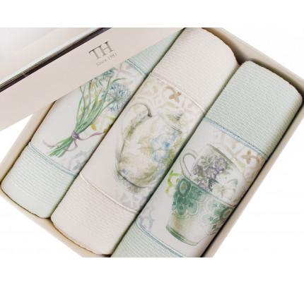 Салфетки для кухни Tivolyo Verona (3 предмета, ассорти) 30x50