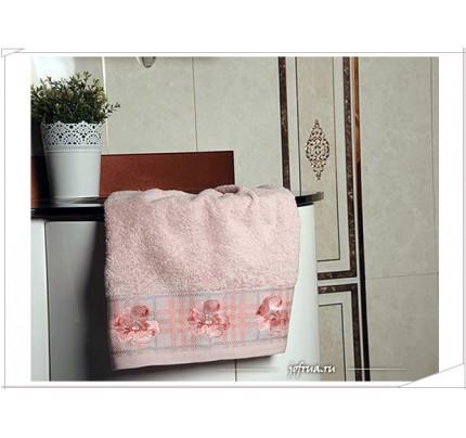 Набор полотенец Arya Gonca розовый (2 предмета)