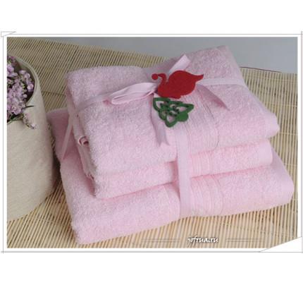 Набор полотенец Irya Shalla (розовый)