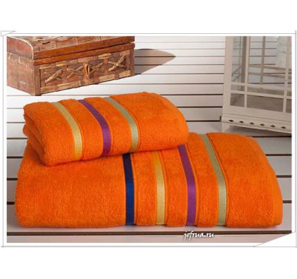 Набор полотенец Karna Bale Neon (оранжевый, 2 предмета)