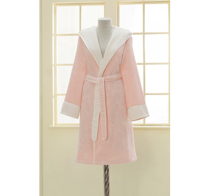 Халат женский Soft Cotton Nehir (розовый)