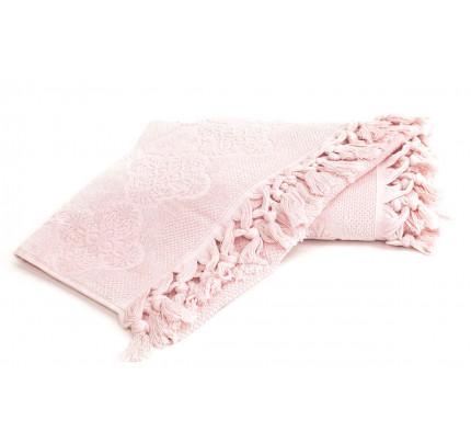 Набор полотенец Tivolyo Nervures (розовый) 2 предмета