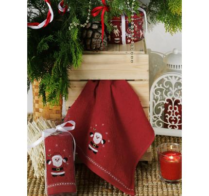 Новогоднее полотенце-салфетка Karna Noel V5 30x50