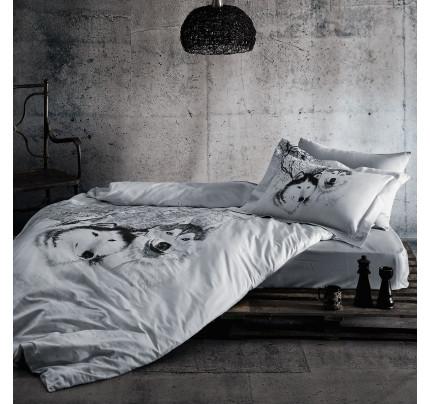 Постельное белье Tivolyo Wolf 1.5-спальное