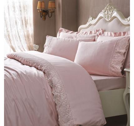 Постельное белье Tivolyo Elegant (розовое)