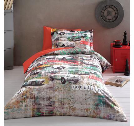 Постельное белье Tivolyo Garage 1.5-спальное