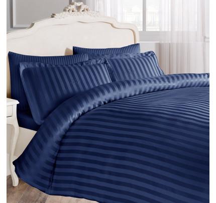 Постельное белье Tivolyo Home New Jaquard (синее) евро