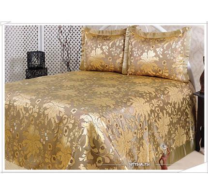 Покрывало Nazsu Cinar (золотистое) 240х260