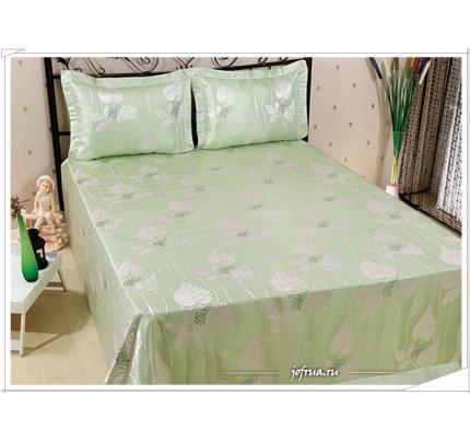 Покрывало Nazsu Yaprak (зеленое) 240х260