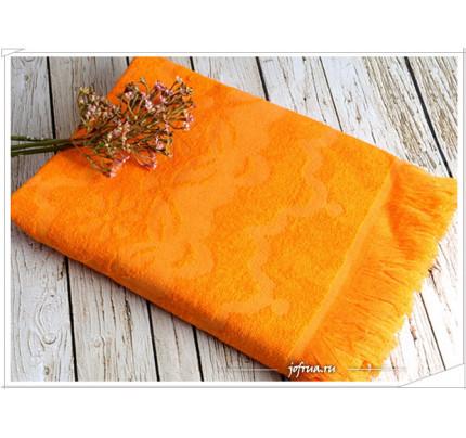 Полотенце Irya Daisy (оранжевое)