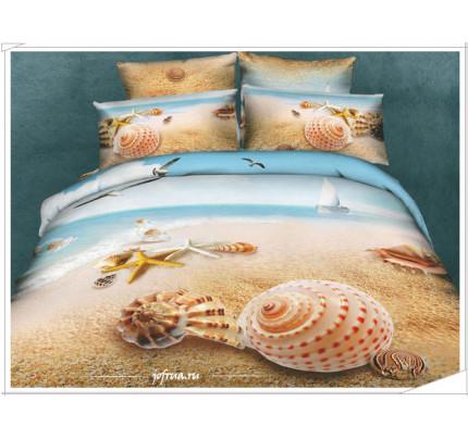 Постельное белье Karven 462 Морские Ракушки