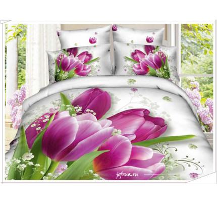 Постельное белье Karven 463 Тюльпаны