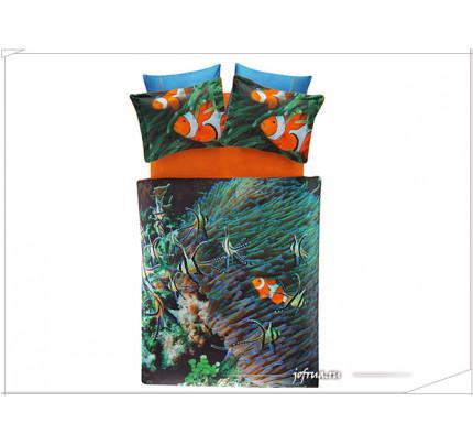 Постельное белье TAC Derin Tutku Nemo евро