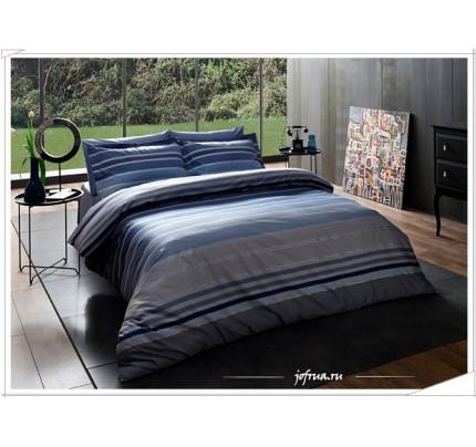 Постельное белье TAC Lux Line (синее)