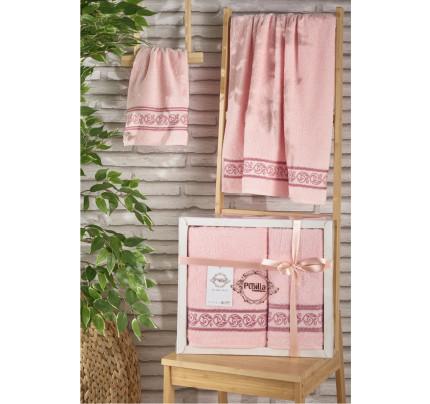 Набор полотенец Pupilla Dream (светло-розовый, 2 предмета)