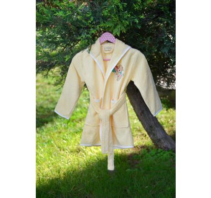 Детский халат Pupilla Kids (желтый)