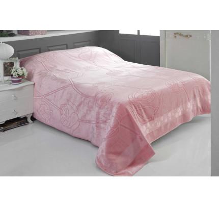 Покрывало-простынь Pupilla Roses (розовое) 200x220