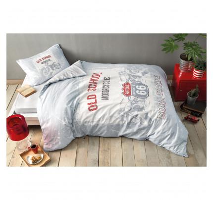 Постельное белье TAC Route (серый) 1.5-спальное