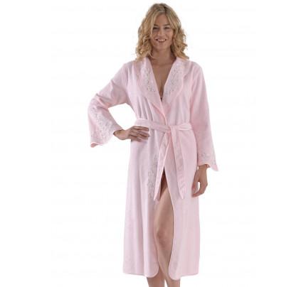 Халат женский Soft Cotton Ruya (розовый)