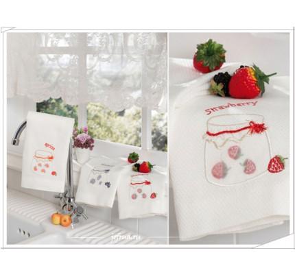 Cалфетки для кухни Tivolyo Jams (3 предмета) 40х60