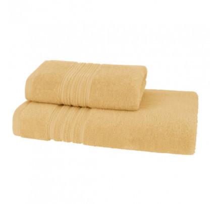 Набор полотенец Soft Cotton Aria (желтый, 2 предмета)