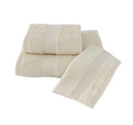 Набор полотенец Soft Cotton Deluxe (3 предмета, экрю)