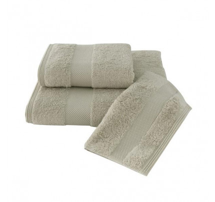 Набор салфеток Soft Cotton Deluxe светло-бежевый (3 предмета)