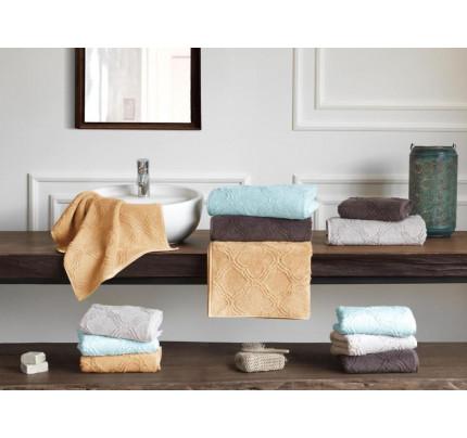 Набор полотенец Soft Cotton Hypnos (серый, 2 предмета)