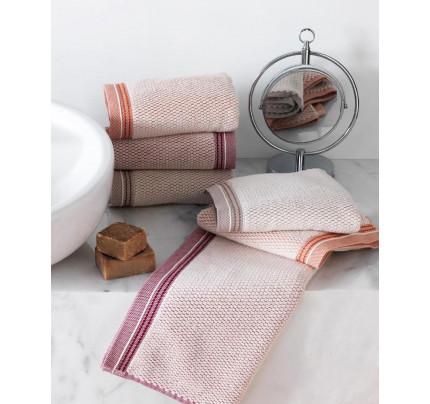 Набор полотенец Soft Cotton Terra (бордовый, 2 предмета)