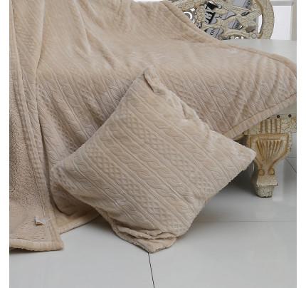 Декоративная наволочка Sofi de Marko Фабиян (бежевый) 50x50