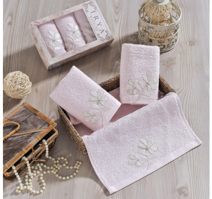 Набор салфеток Irya Senses (розовый) 30x50 (3 шт.)