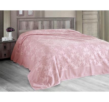 Покрывало-простынь Arya Sitare (розовое)