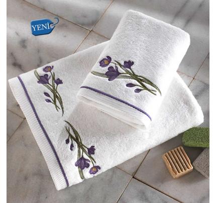 Полотенце Soft Cotton Blossom (лиловое)