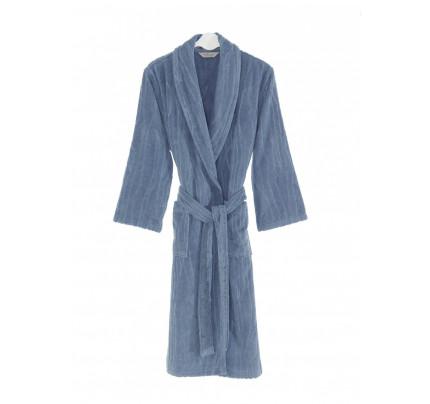 Халат мужской Soft Cotton Sortie (голубой)