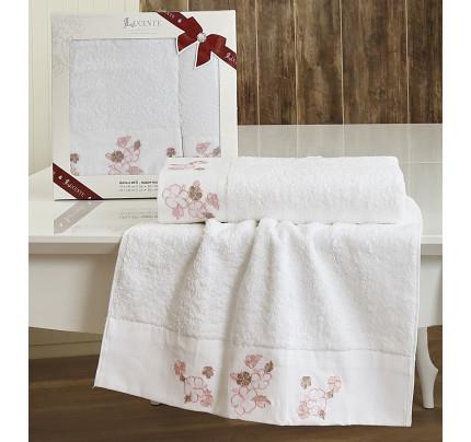 Набор полотенец Lucente Sura (белый, 2 предмета)