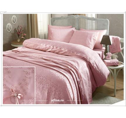 Свадебный набор Gelin Home Gelin (розовый) евро