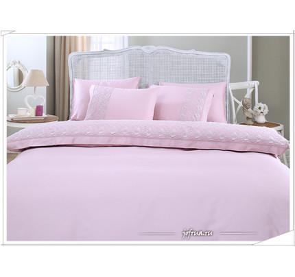 Свадебное постельное белье Bella (лиловое) евро
