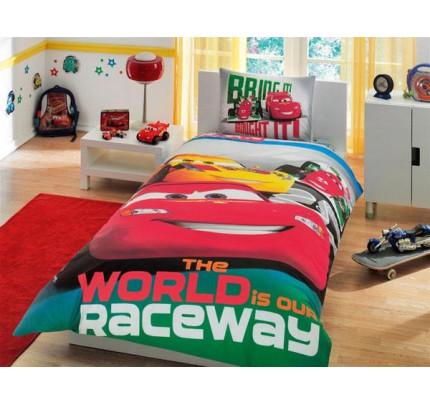 Детское постельное белье TAC Cars Racing