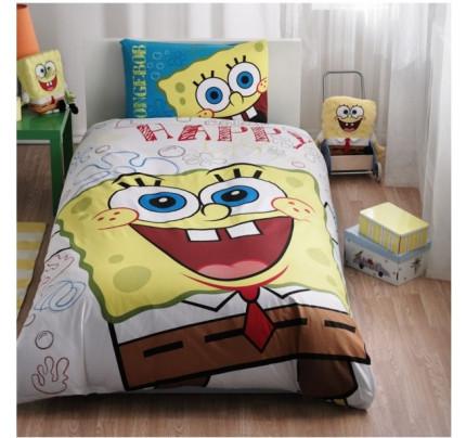 Детское постельное белье TAC Sponge Bob Happy