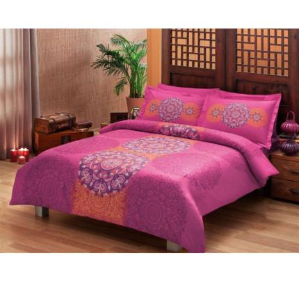 Постельное белье TAC Karina (розовое)