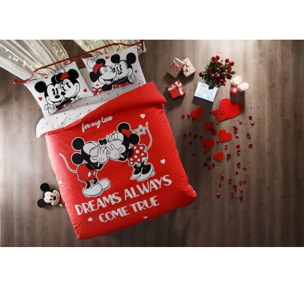 Постельное белье TAC Minnie Mickey Dreams евро