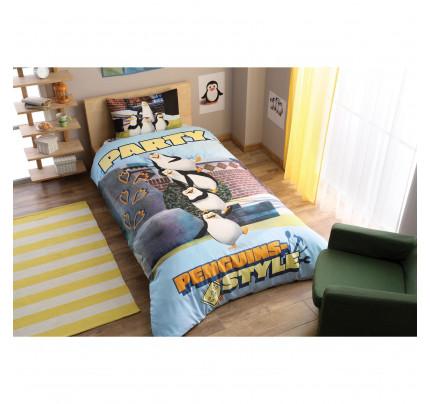 Детское постельное белье TAC Penguins Party