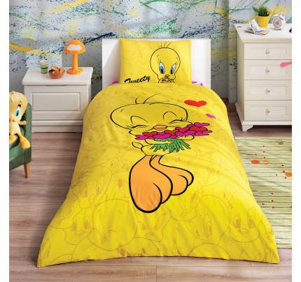Детское постельное белье TAC Tweety Hearts