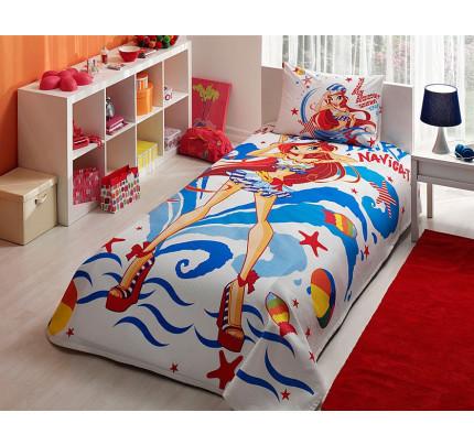 Детское постельное белье Винкс: Блум на море