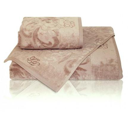 Набор полотенец Tivolyo Baroc (коричневый) 3 предмета
